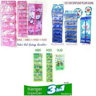 Rak set gantung 3 in 1