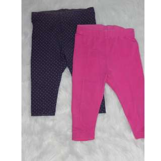 Take 2 Mothercare leggings for baby girls