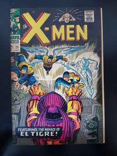 X-Men (vol.1) #25: Origins & 1st Appearance of El Tigre (Juan Meroz)