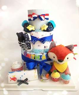🚚 Diaper Cake