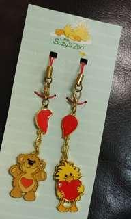 Little Suzy's Zoo 電話繩 鎖匙扣