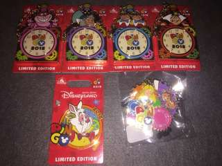 香港迪士尼 徽章 Disney Pin Pingo 2018 SET LE600