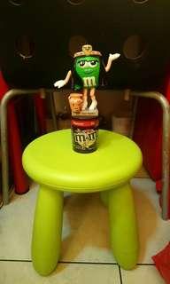 全新M&M's綠埃及豔后糖果機