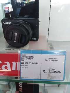 Camera Canon m10 bs di kredit