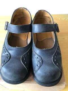 🚚 Dr. Martens馬汀大夫娃娃鞋(女款藍色UK5)
