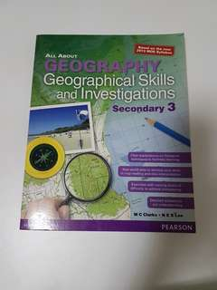 All About Geography Geographical Skills and Investigations Secondary 3