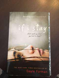 If I stay Book