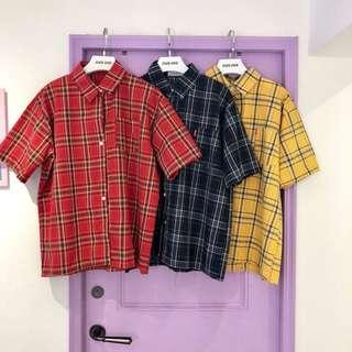 🚚 挺版寬鬆韓國襯衫