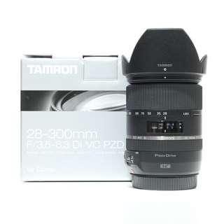 Tamron 28-300mm f/3.5-6.3 Di VC PZD Lens (Canon Mount)