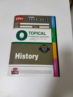 History Topical Examination Questions