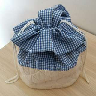 Drawstring Make-up Bag