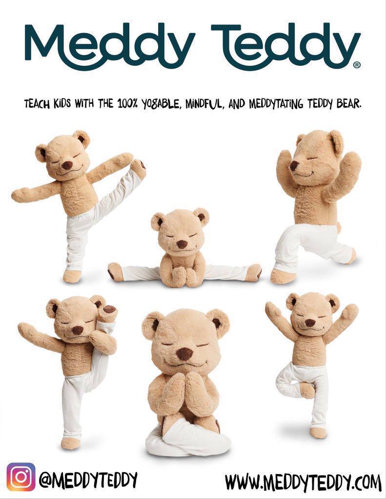 [全新原裝正版] 美國進口品牌🐻Meddy Teddy瑜伽熊🐻 <Last 4>