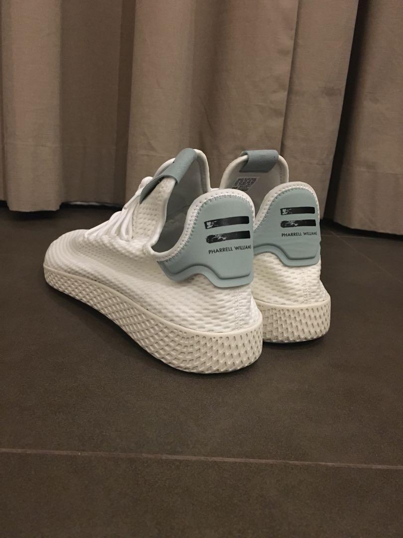 72f4797a84842 Adidas Hu Tennis x Pharrell Williams Tactile Blue
