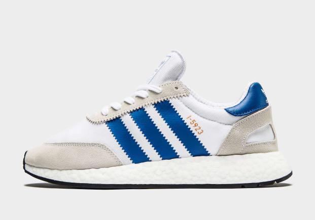 Adidas I-5923 Iniki White Blue UK 6 to