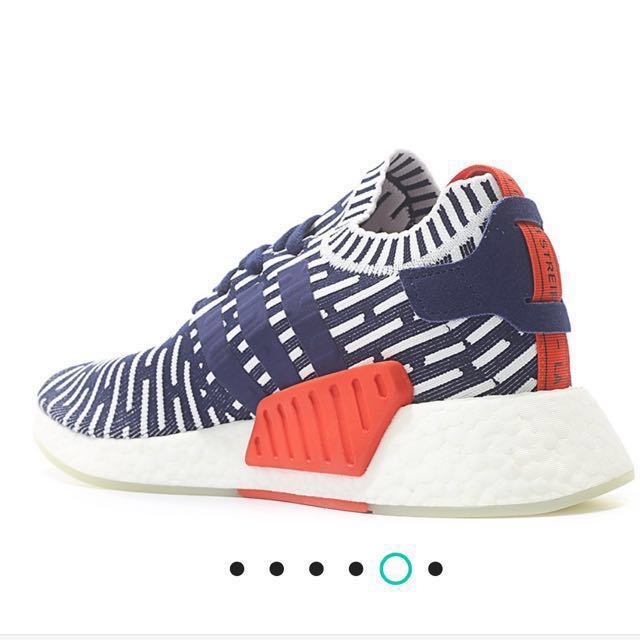 10683637b ADIDAS ORIGINALS NMD R2 PK PRIMEKNIT RUNNER BOOST (BLUE   WHITE ...