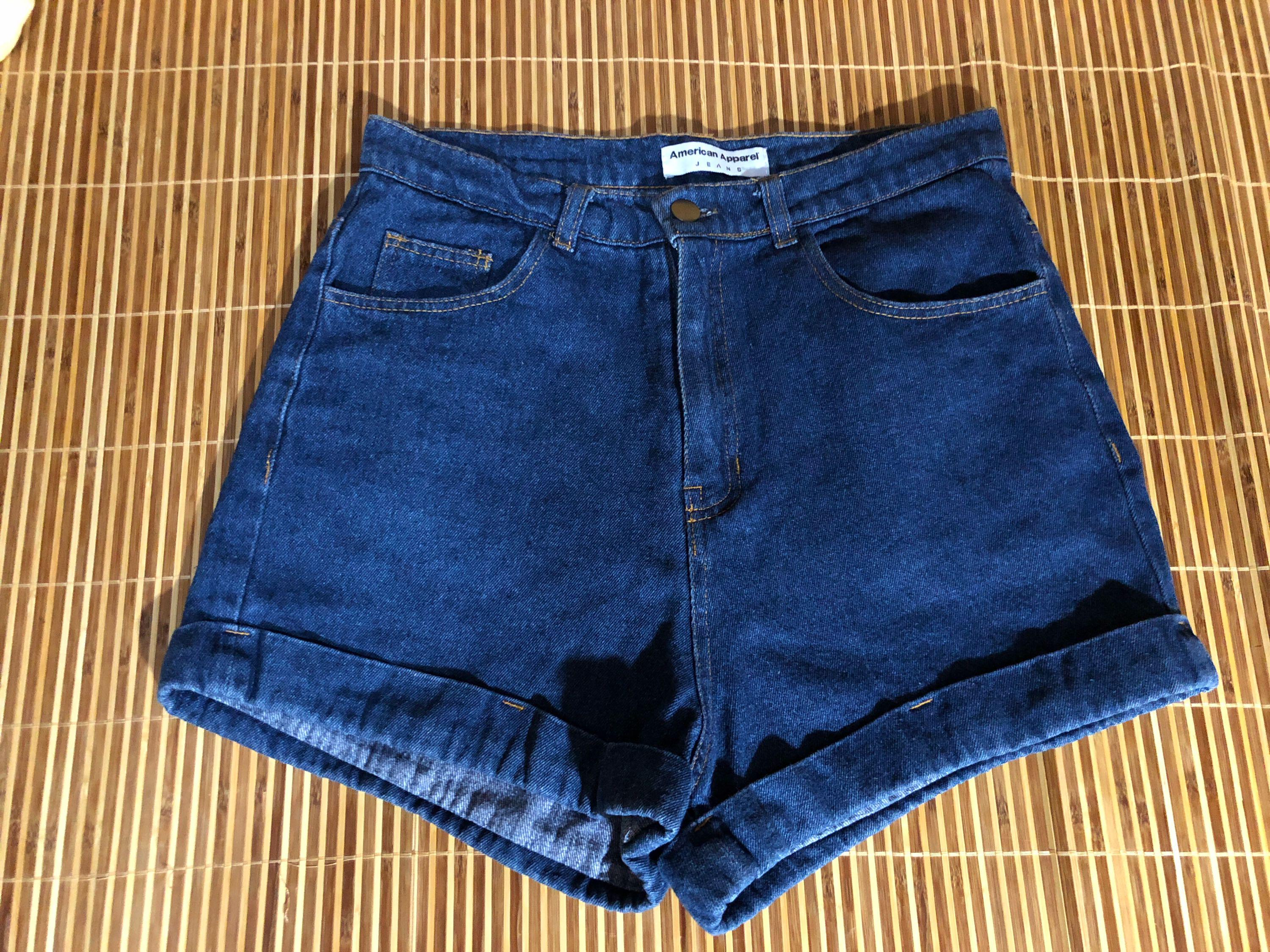 american apparel 藍色牛仔短褲 (not Zara H&M Gap collet point Lowry's farm Hollister jack wills American Eagle outfitters)