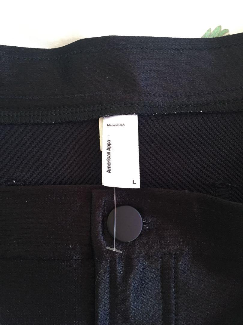 American Apparel Side Stripe Disco Shorts (L)