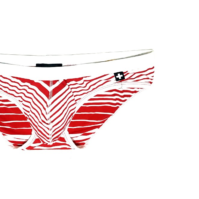 1fdb945a1f Authentic ANDREW CHRISTIAN NANOFIT Capri Bikini RED 32-34, Men's ...