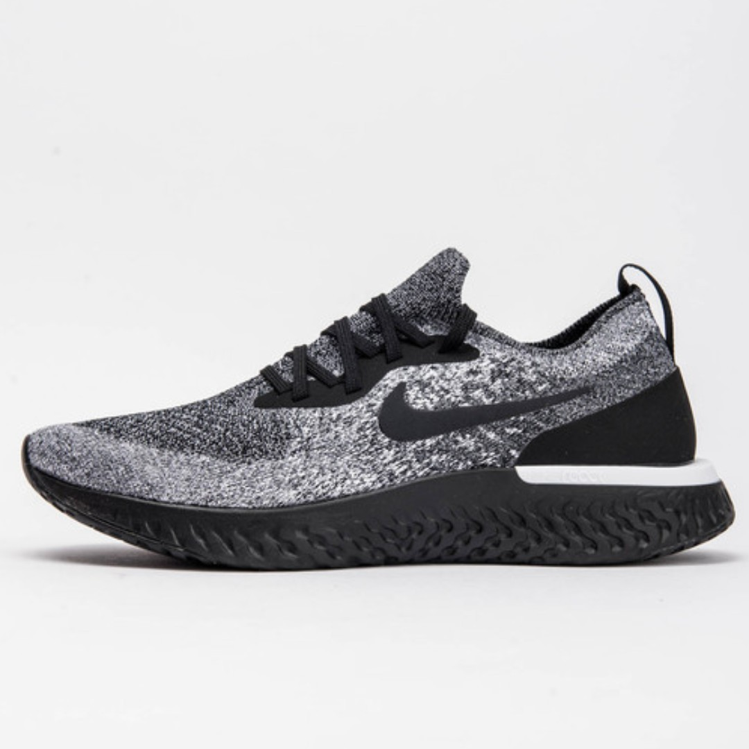 d90f55fe718 Authentic Nike Epic React Flyknit Oreo, Women's Fashion, Shoes ...
