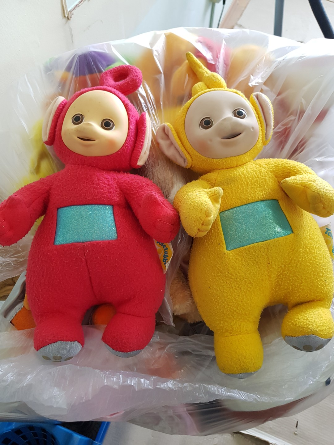 Authetic Teletubbies Plush - Lala and Po 4c07b8f5681d