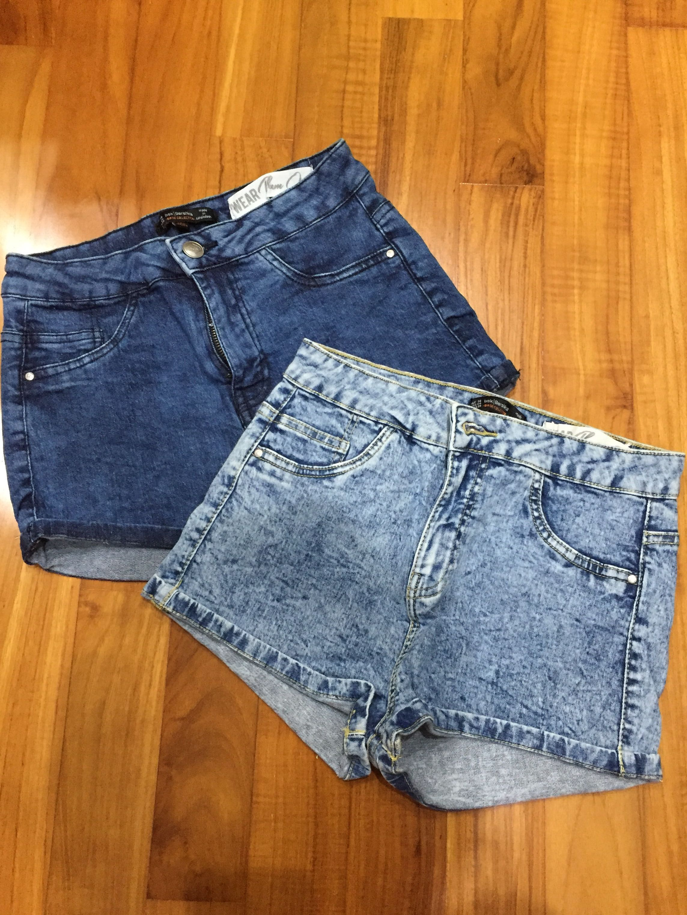 2f8e724931 Bershka Basic Collection High Waisted Denim Shorts, Women's Fashion,  Clothes, Pants, Jeans & Shorts on Carousell