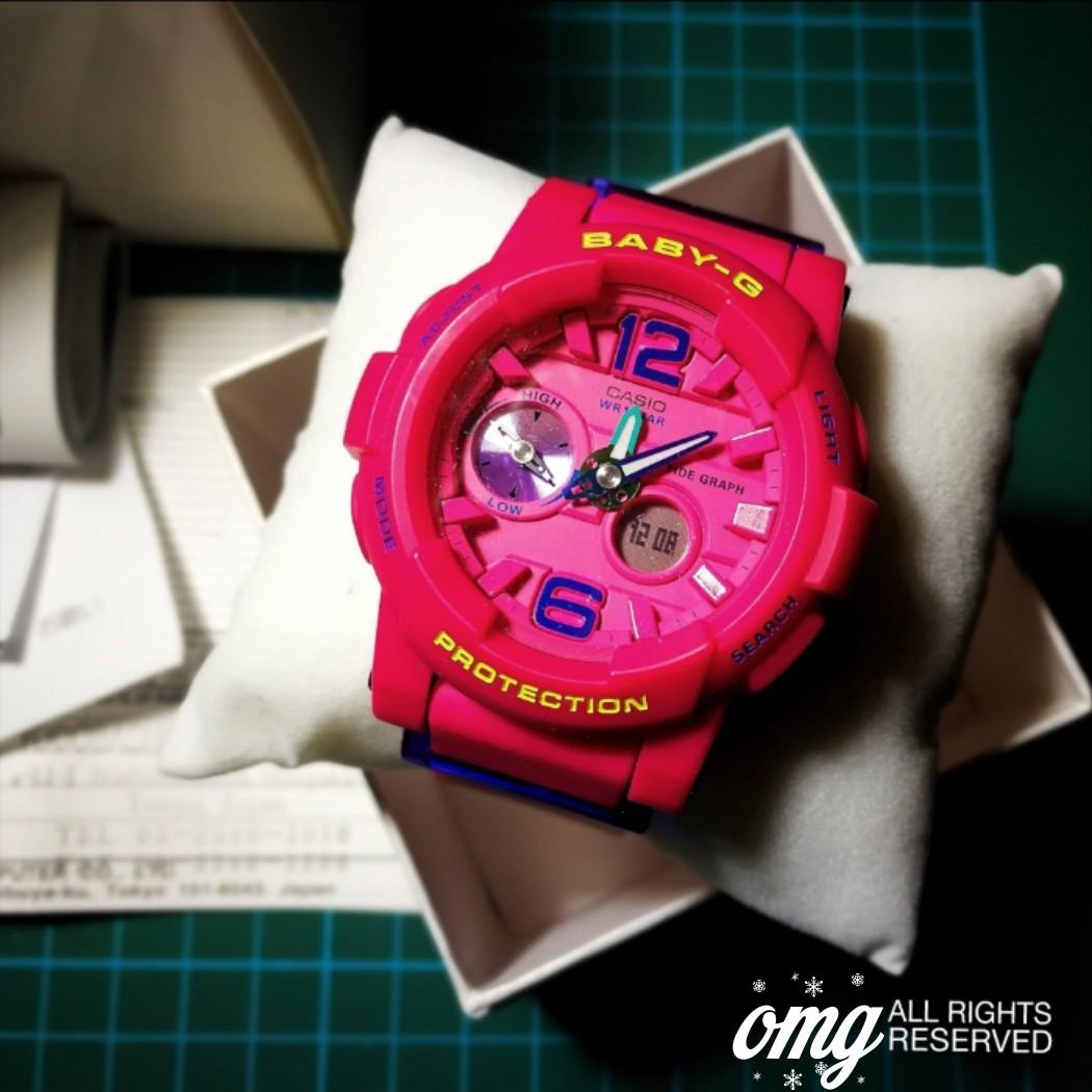 Bnib Casio Baby G Lide Pink Womens Fashion Watches On Carousell Bga 230 7b2 Original Photo