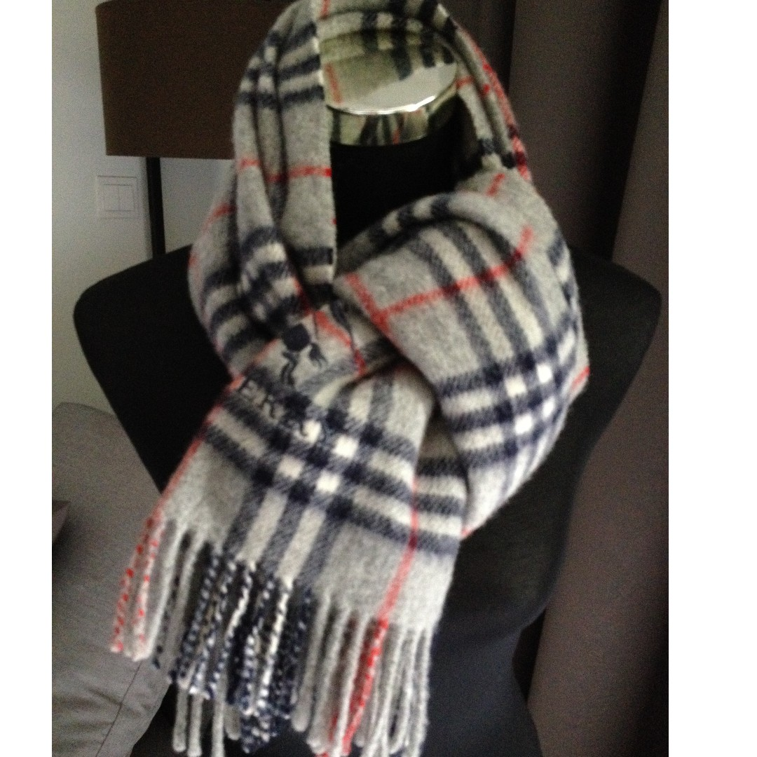 314f16ced7f6 ... purchase authentic burberry london 100 wool scarf shawl womens fashion  accessories scarves shawls on carousell 81fc9