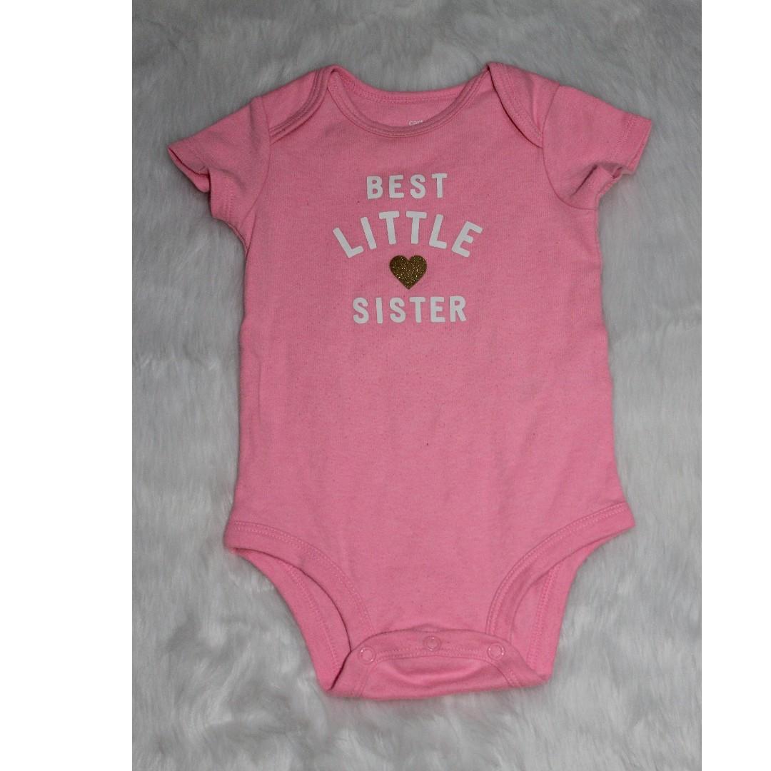 912515dd6 Carter's onesie for baby girls, Babies & Kids, Babies Apparel on ...