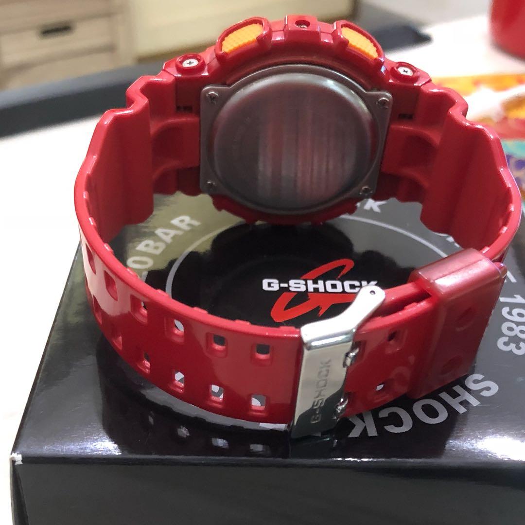 7c6947b13ee28 Casio G Shock Digital Red watch GD-100HC-4ER