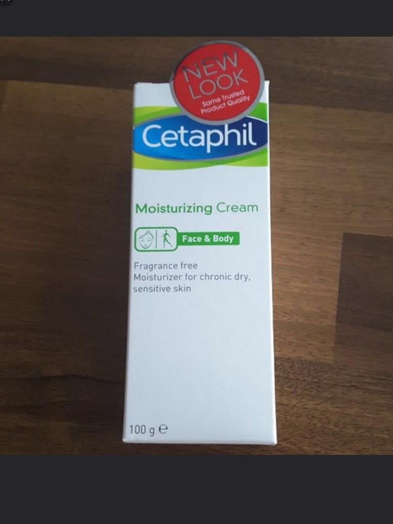 Cetaphil Moisturizing Cream Face And Body Last 3 Left Health Ampamp Photo