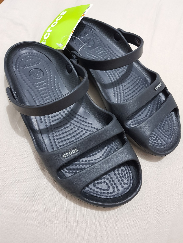 534d5cc9dc57 Crocs Cleo II Women in black (relaxed feet)