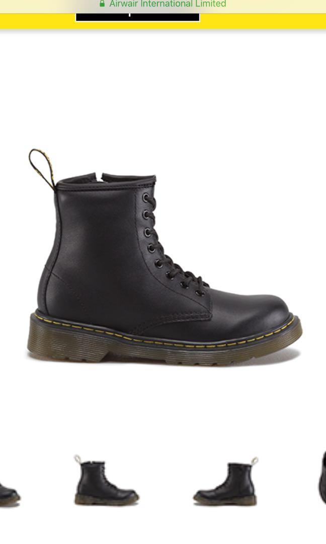 78c6d06b7b582 Dr Martens 1460 junior UNISEX EU 32, Men's Fashion, Footwear, Boots on  Carousell