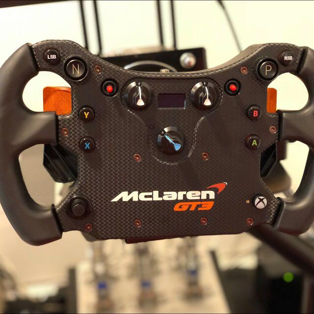 Fanatec Mclaren GT3 wheel with Clubsport QR, Toys & Games