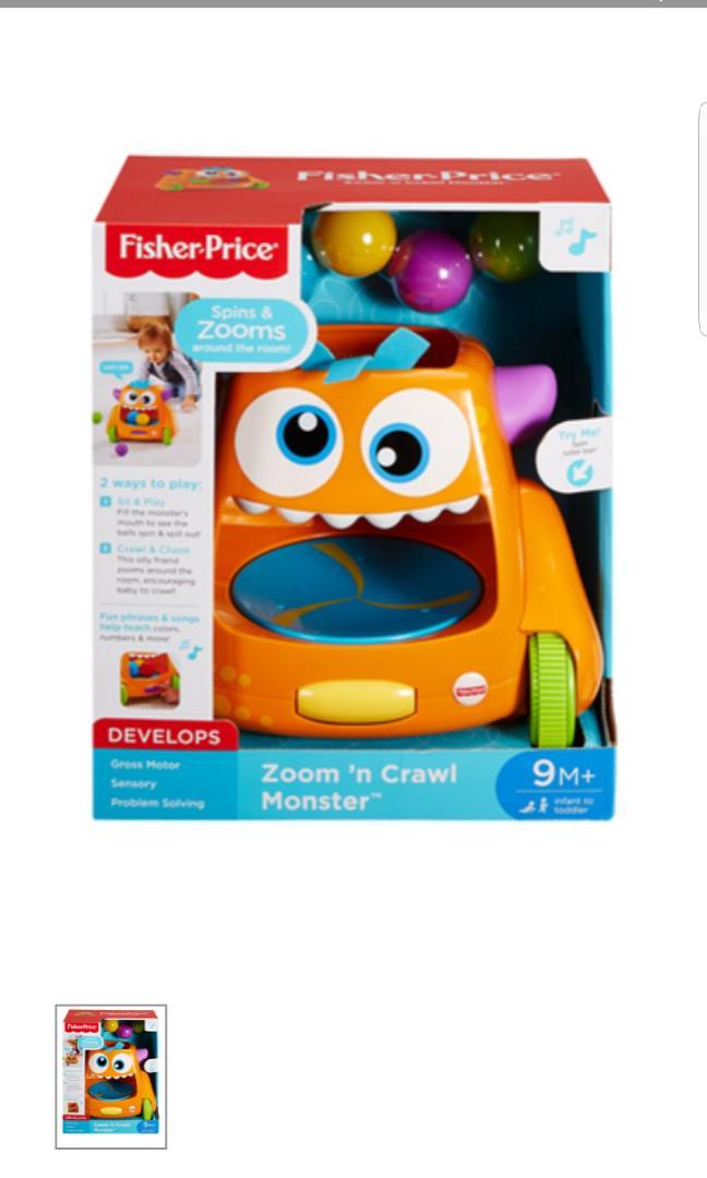 Fisher Price- Zoom n Crawl Monster