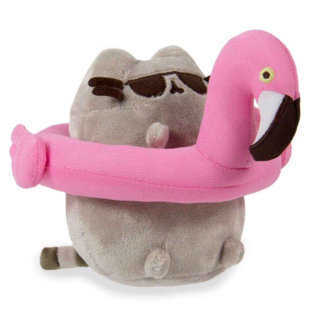 Flamingo Float Pusheen Plush Toys Games Stuffed On Carousell Gund Holiday Sweater