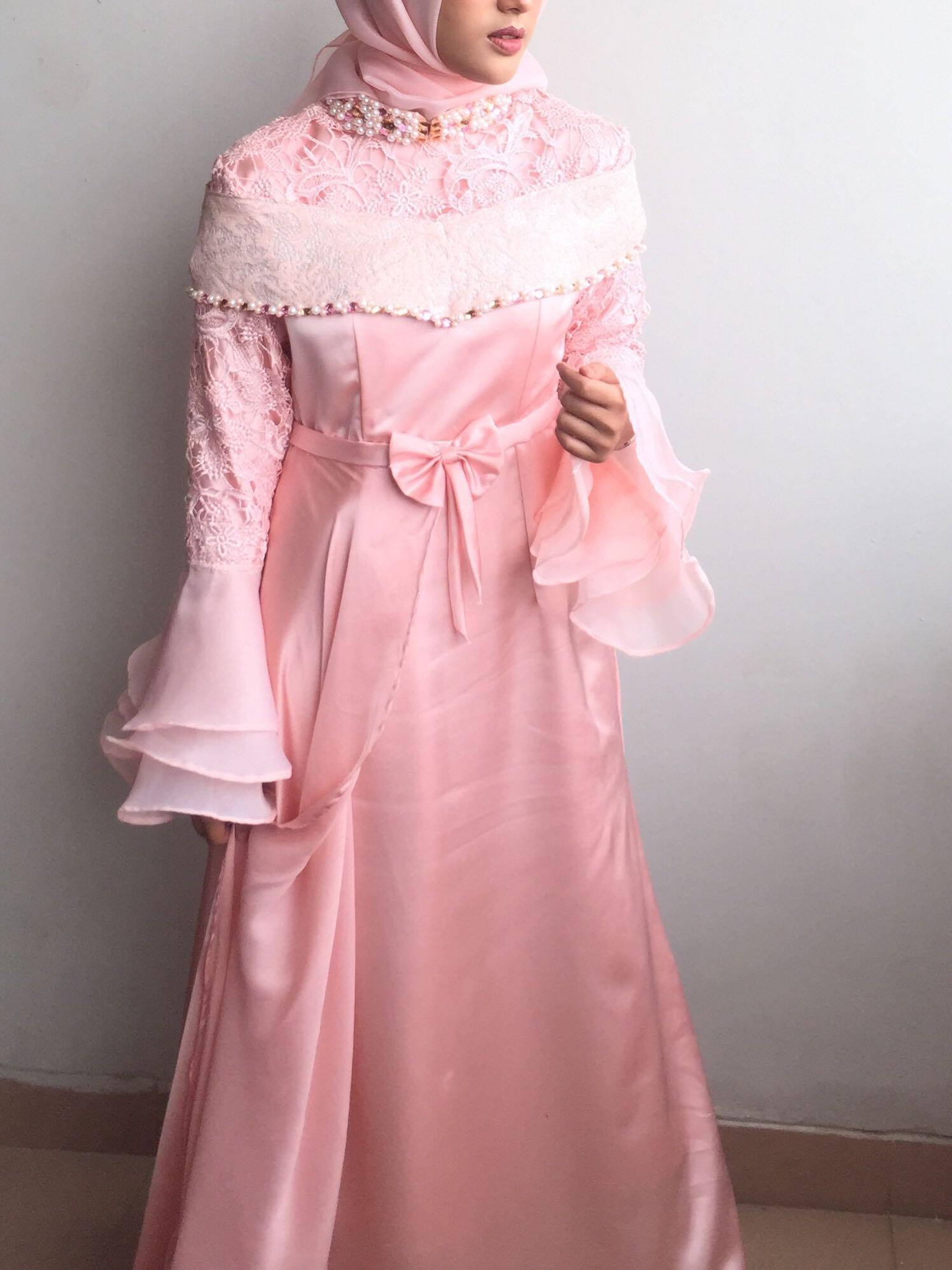 Gaun Pesta Hijab Women S Fashion Women S Clothes Dresses Skirts