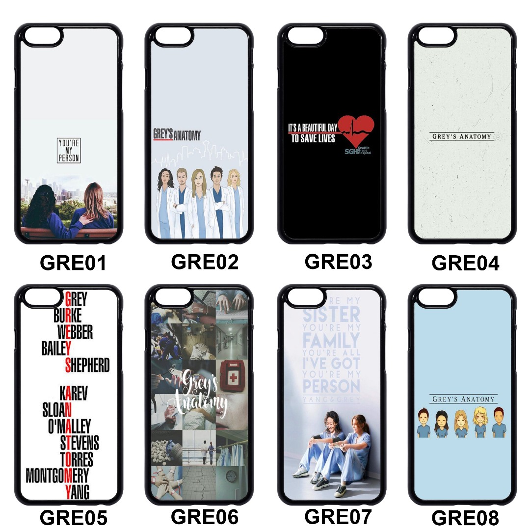 Grey\'s Anatomy Phone Case, Mobiles & Tablets, Mobile & Tablet ...