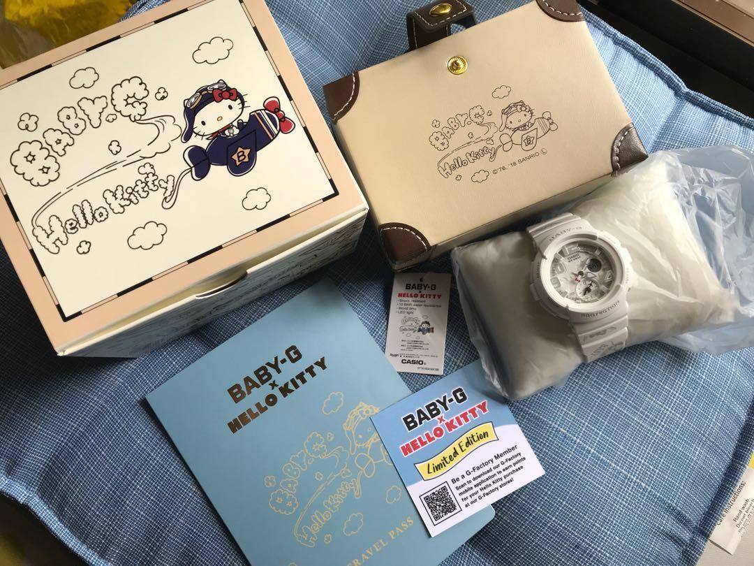 eea9d0740 Hello Kitty Baby G Watch (BNIB), Women's Fashion, Watches on Carousell