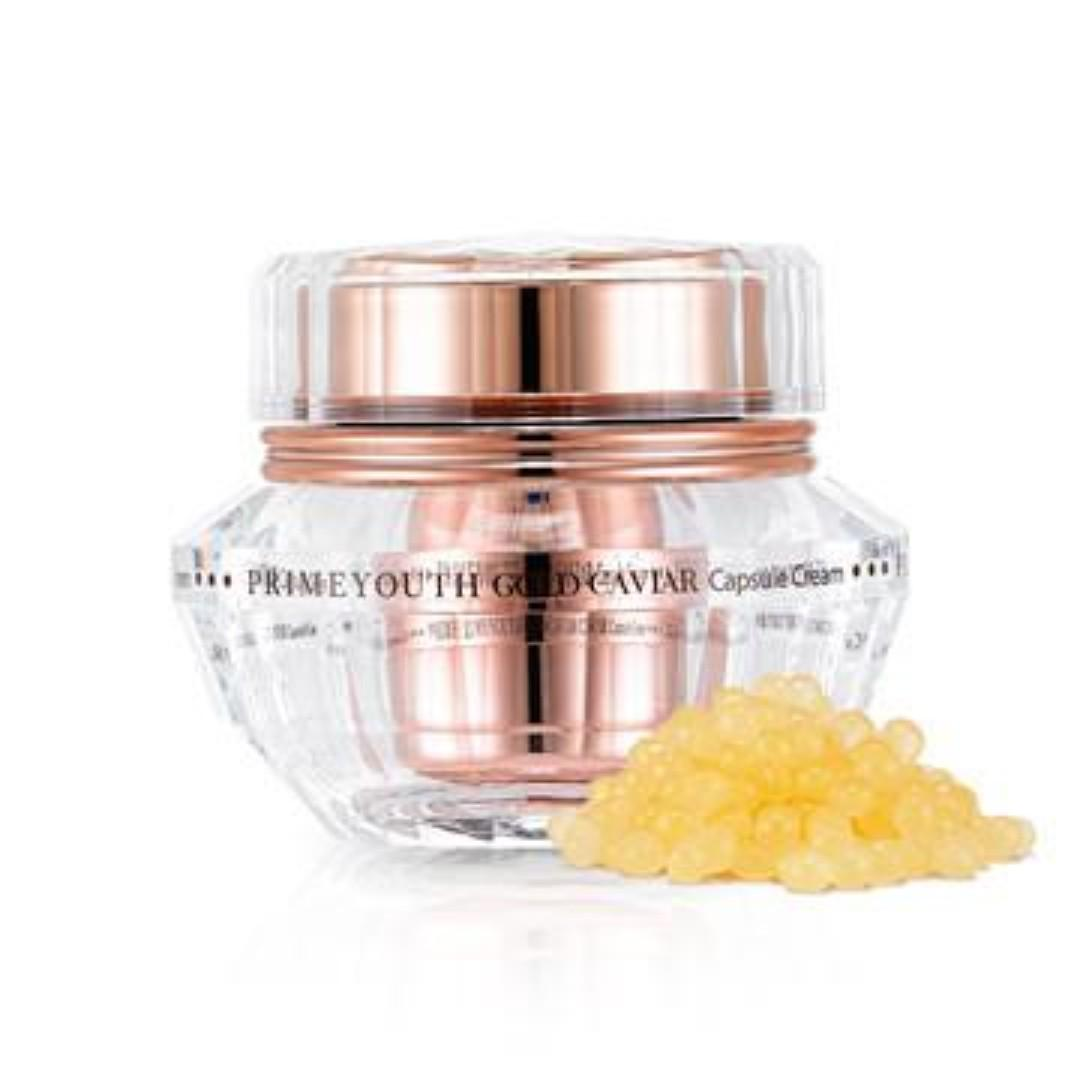 Holika Holika Prime Youth Gold Caviar Capsule Cream Korean Skincare Anti Aging