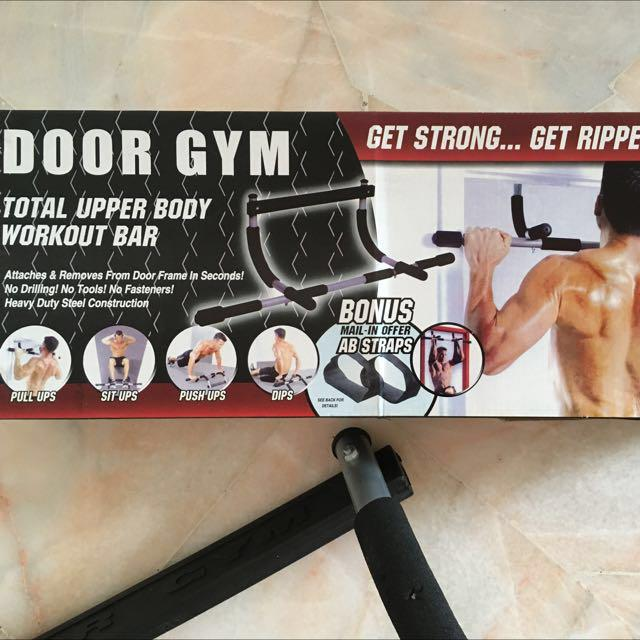 Home Gym (Pull up + Push up + Dips bar), Sports, Sports
