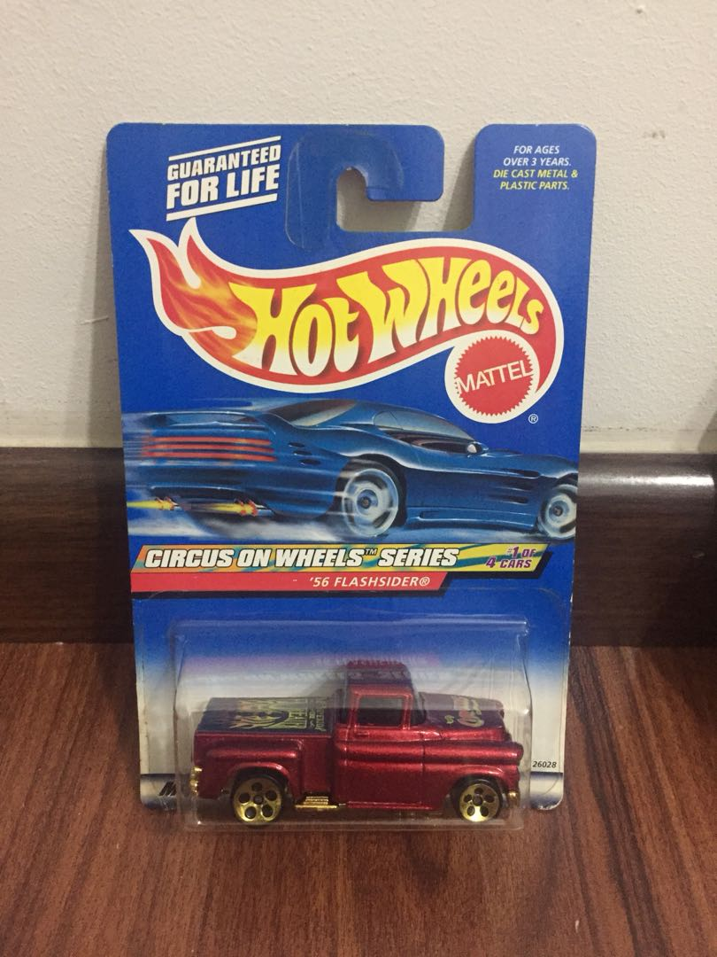 HOT WHEELS 2000 CIRCUS ON WHEELS SERIES /'56 FLASHSIDER