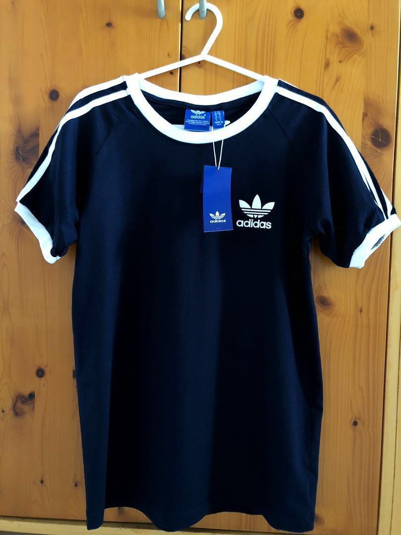 2dad1e93d36 Inspired Adidas Navy Blue T-Shirt, Women's Fashion, Clothes, Tops on ...