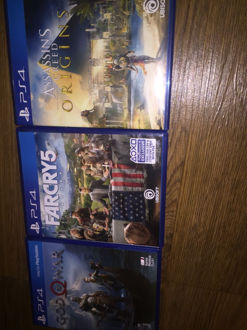 Kaset Ps4 God Of Warfarcry5assassins Creed Origins Video Game Bd For Honor Deluxe Edition  Only Reg 3 Di Carousell