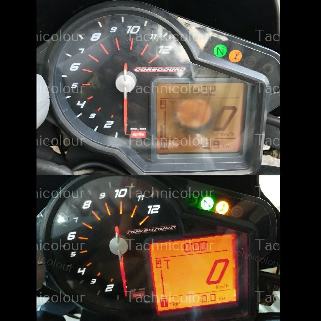 LCD Screen Replacement New Meter Motorcycle Motorbike