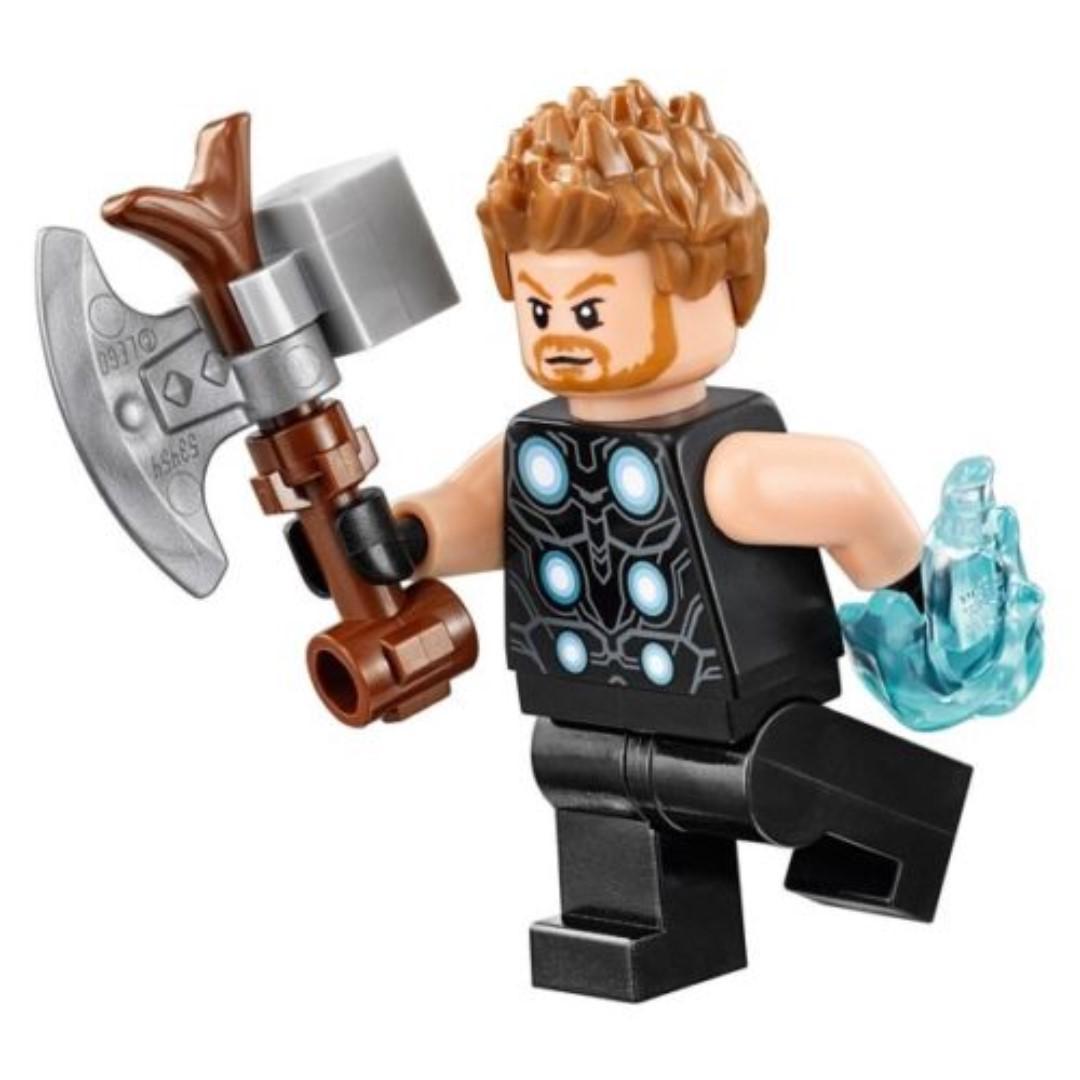 LEGO Marvel Avengers STORMBREAKER THOR Minifigure 76102 Infinity War NEW