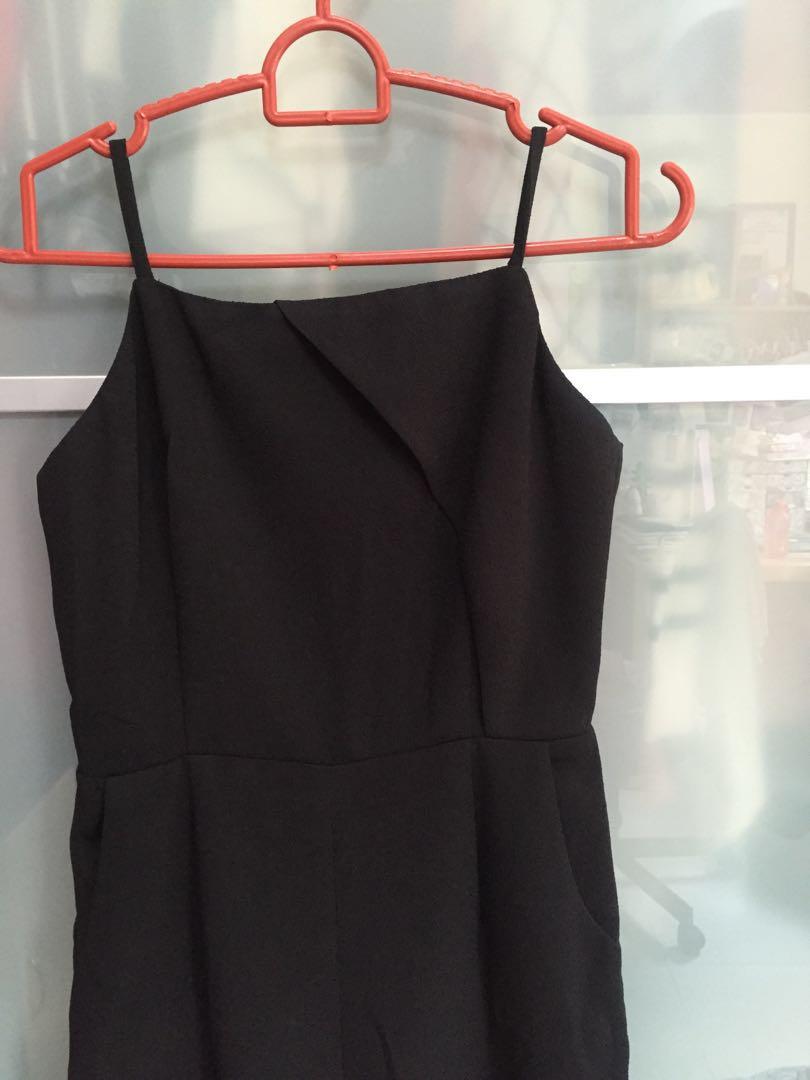 bc847b4fa70d MDS black jumpsuit