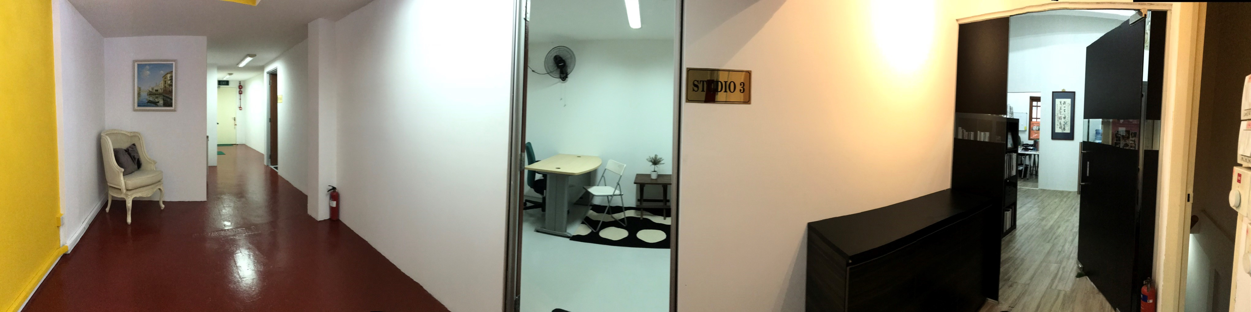 Urgent - Newly Renovated Retail Shop/Office for Rent Geylang Main Rd Conserved Shophouse 2nd floor w/lift