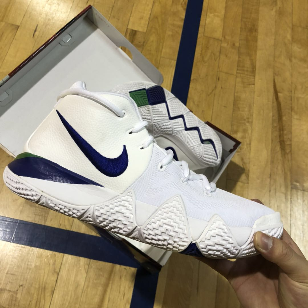 cheap for discount ae595 afafe Nike Kyrie 4 Deep Royal, Men s Fashion, Footwear, Sneakers on Carousell