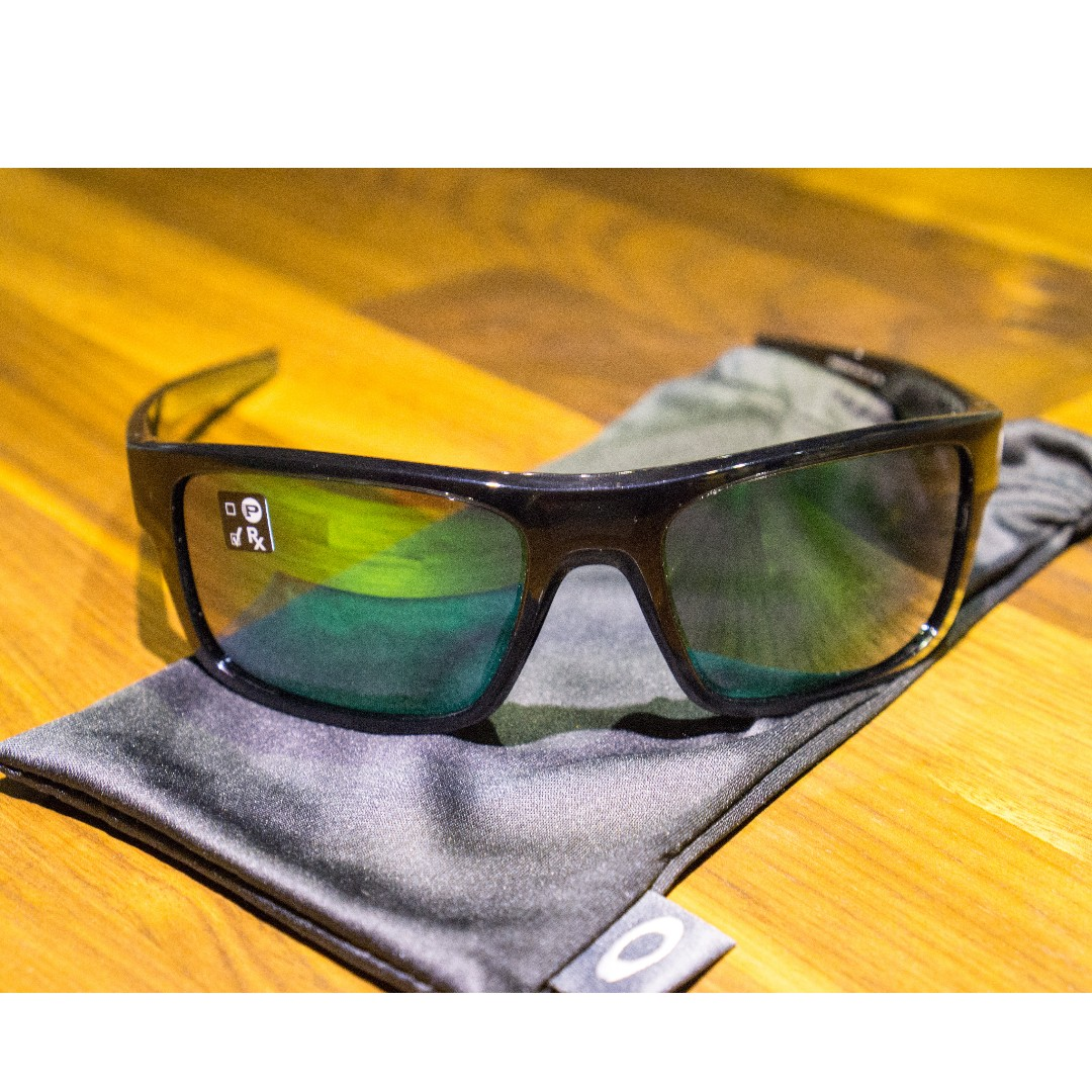 c08086241c Oakley DROP POINT Sunglasses • Jade Iridium Lens • Black Ink Frame ...
