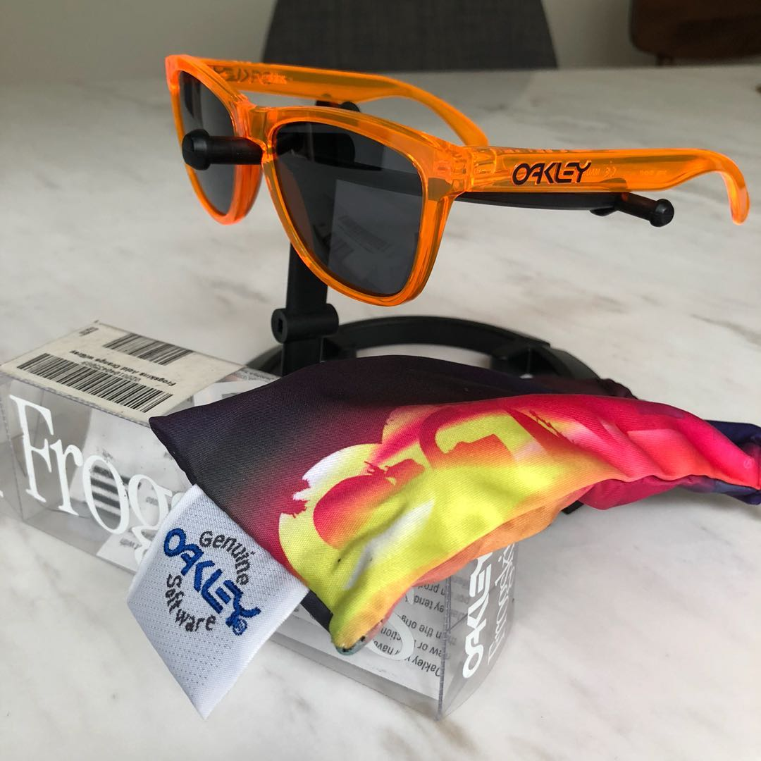 40209f45ab Oakley Frogskins RX Prescriptions Acid Orange frames